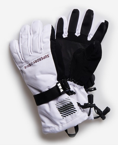 Superdry Sporthandschoenen in de kleur Zwart / Wit, Productweergave
