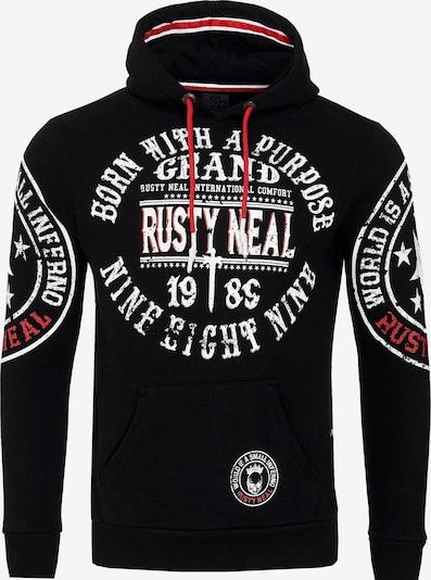 Rusty Neal Sweatshirt in de kleur Zwart, Productweergave