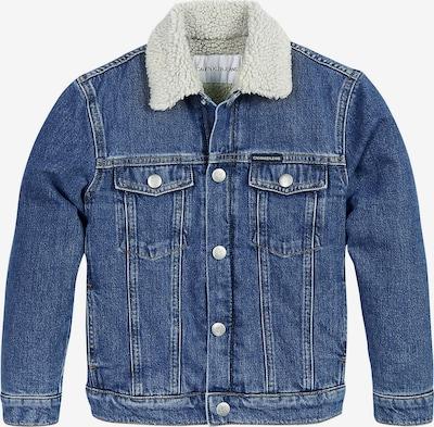 Calvin Klein Jeans Jeansjacke in blau, Produktansicht