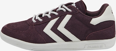 Hummel Sneaker in weinrot / weiß, Produktansicht