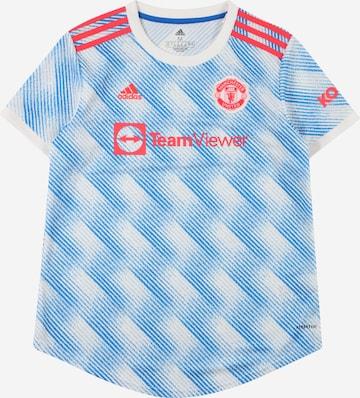 ADIDAS PERFORMANCE Toiminnallinen paita 'MUFC' värissä valkoinen
