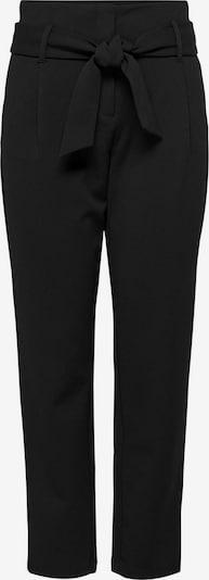 ONLY Pantalon à pince 'Carolina' en noir, Vue avec produit