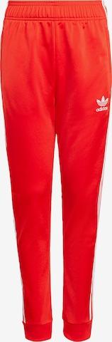 ADIDAS ORIGINALS Püksid 'Adicolor SST', värv punane