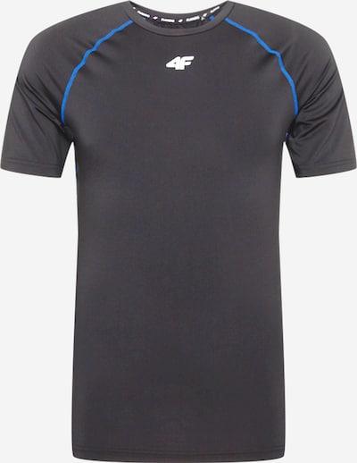 4F Camiseta funcional en azul / gris plateado / negro, Vista del producto