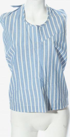 basic apparel Blusentop in S in blau / weiß, Produktansicht