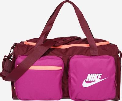Nike Sportswear Tasche 'FUTURE PRO' in apricot / pink / weinrot, Produktansicht