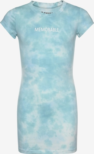 BLUE EFFECT Dress in Mint / White, Item view