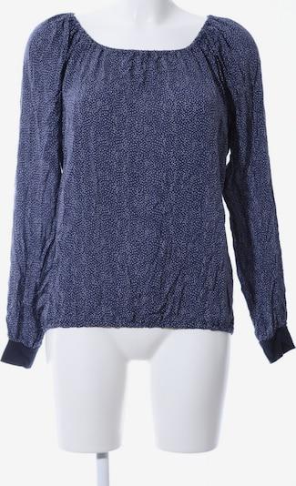 UVR Connected Langarm-Bluse in M in blau / weiß, Produktansicht
