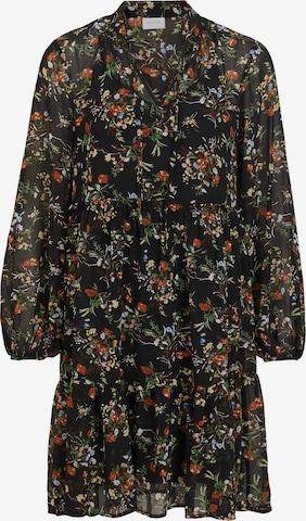VILA Shirt dress in Black