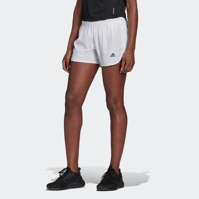 ADIDAS PERFORMANCE Sporthose 'Marathon 20' in schwarz / weiß, Modelansicht