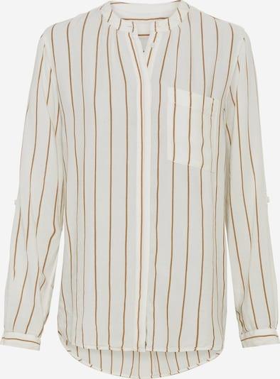 CAMEL ACTIVE Bluse in braun / offwhite, Produktansicht