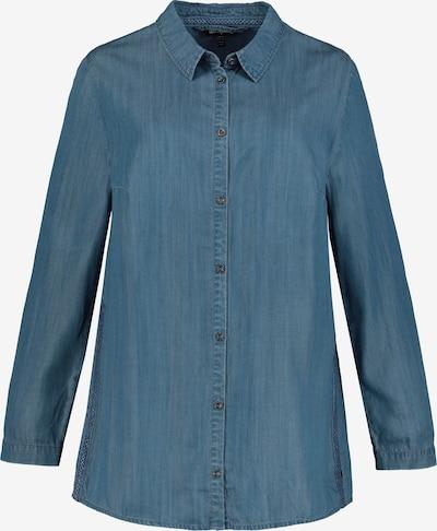 Bluză Ulla Popken pe denim albastru, Vizualizare produs