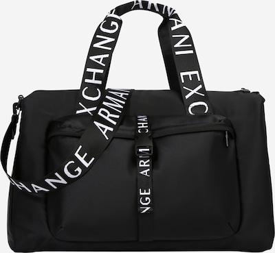 ARMANI EXCHANGE Víkendová taška - čierna / biela, Produkt