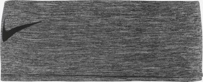 NIKE Accessoires Bandeau de sport 'Fury' en gris foncé / noir, Vue avec produit