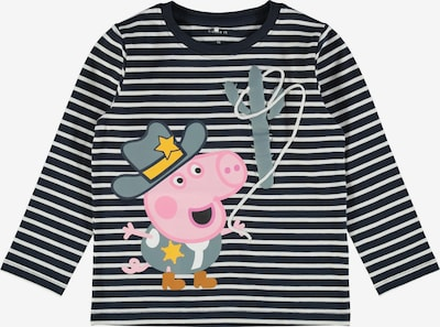 NAME IT Shirt 'Peppa Pig' in Night blue / Lime / Pastel green / Pink / White, Item view