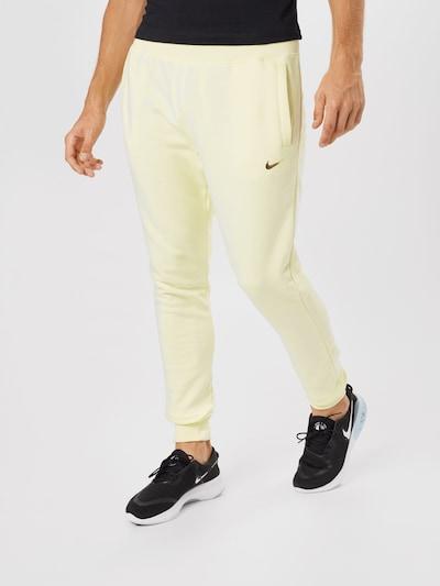 Nike Sportswear Hose in hellgelb: Frontalansicht