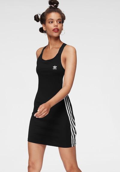ADIDAS ORIGINALS Jurk in de kleur Zwart / Wit, Modelweergave