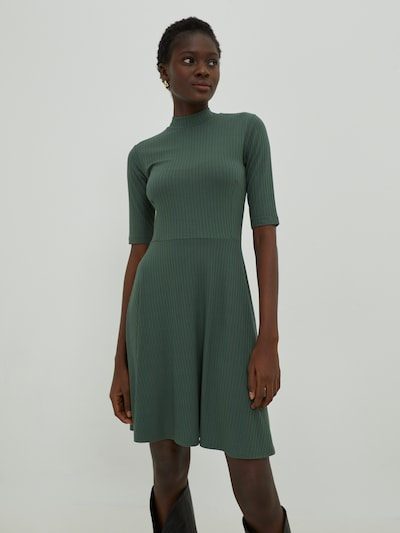 EDITED Kleid 'Eileen' in khaki, Modelansicht
