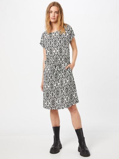 ONLY Kleid 'NOVA' in de kleur Zwart / Wit, Modelweergave