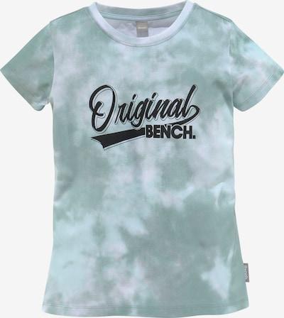BENCH T-Shirt in türkis / grau, Produktansicht