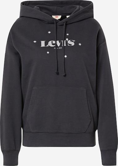 LEVI'S Sweatshirt i grå / sort, Produktvisning