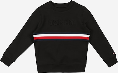 Bluză de molton TOMMY HILFIGER pe bleumarin / roși aprins / negru / alb, Vizualizare produs