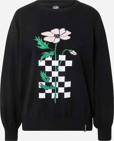 Santa Cruz Džemperis, krāsa - zaļš / rožkrāsas / melns / balts, Preces skats