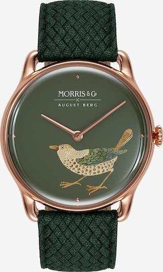 August Berg Analoog horloge in de kleur Rose-goud, Productweergave