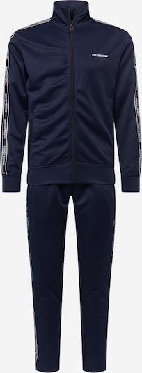 JACK & JONES Joggingová súprava - námornícka modrá / biela, Produkt