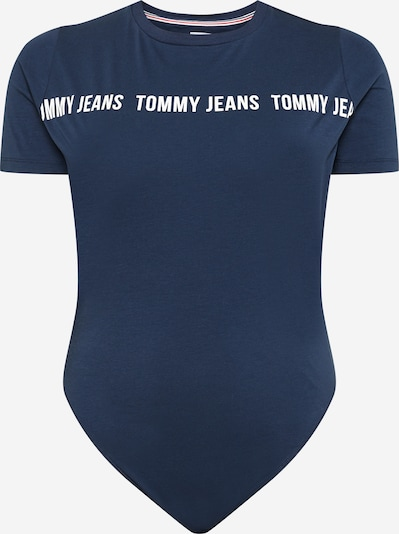 Tommy Jeans Curve Shirt bodysuit in navy / white, Item view