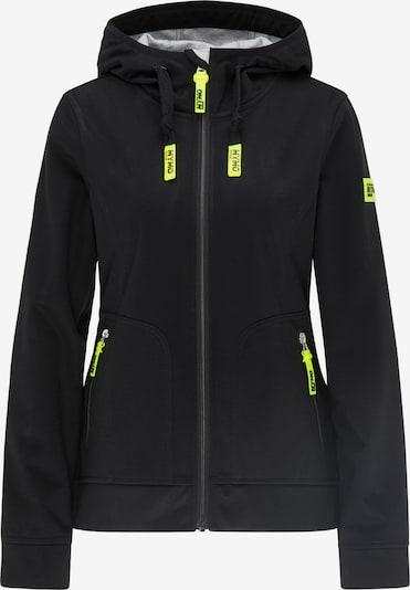 myMo ATHLSR Functionele jas in de kleur Neongeel / Zwart, Productweergave
