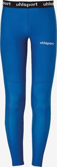 UHLSPORT Sportunterhose in blau / schwarz / weiß, Produktansicht