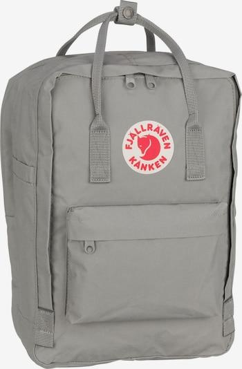 Fjällräven Rucksack 'Kanken' in grau / rot / weiß, Produktansicht