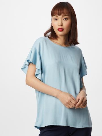 Bluză 'FANZA' de la VILA pe albastru