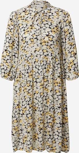 Rochie tip bluză 'Felia' Kaffe pe coniac / negru / alb, Vizualizare produs