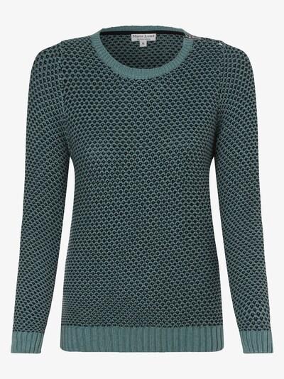 Marie Lund Pullover in hellblau / schwarz, Produktansicht