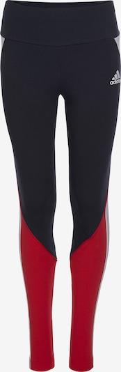 ADIDAS PERFORMANCE Sporthose 'Bold' in navy / rot / weiß, Produktansicht