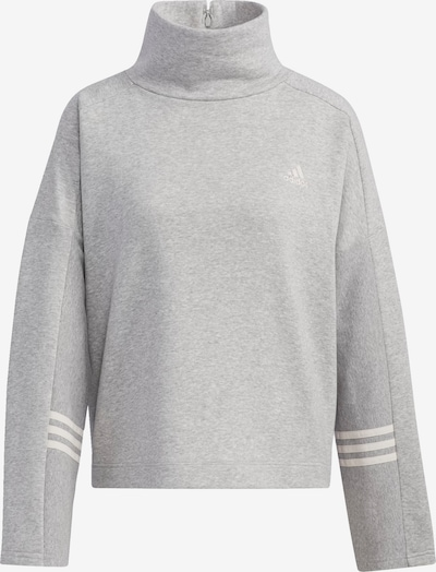 ADIDAS PERFORMANCE Sweatshirt in grau: Frontalansicht