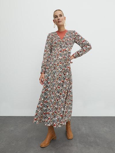 EDITED Kleid 'Frederika' in mischfarben, Modelansicht