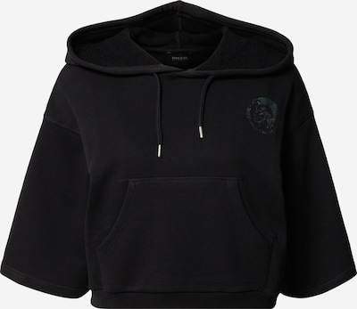 DIESEL Sweat-shirt 'Jonies' en noir, Vue avec produit