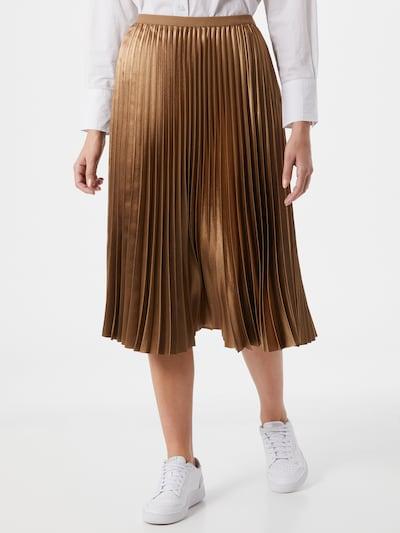 OPUS Suknja 'Rury' u tamno bež: Prednji pogled