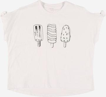 NAME IT Shirt 'NKFZulamia' in Weiß