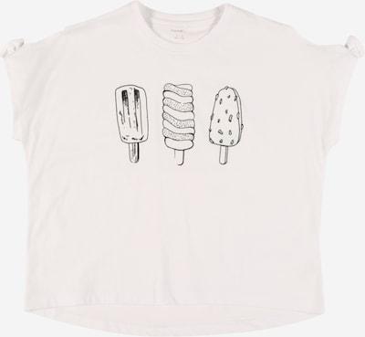 NAME IT T-Shirt 'Zulamia' en noir / blanc, Vue avec produit