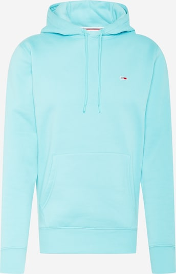 Tommy Jeans Sweat-shirt en bleu marine / turquoise / rouge / blanc, Vue avec produit