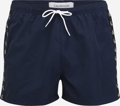 Calvin Klein Swimwear Plavecké šortky - námořnická modř / černá / bílá, Produkt