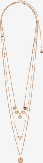 Pilgrim Kette 'Carol' in gold / transparent, Produktansicht