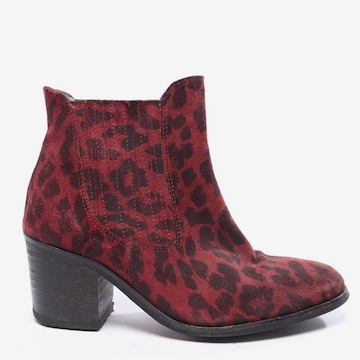 Ganni Dress Boots in 39 in Red
