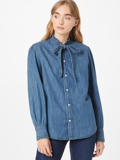 Bluză 'ANGA' Polo Ralph Lauren pe indigo, Vizualizare model