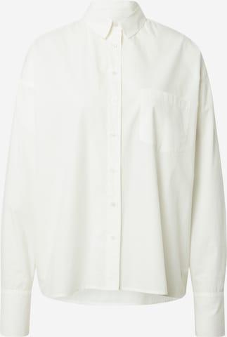 ABOUT YOU x INNA Blouse 'Dalia' in White
