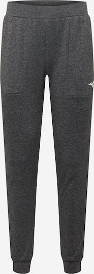 MIZUNO Pantalon de sport en noir chiné, Vue avec produit